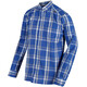Regatta Mindano Longsleeve Men Oxford Blue Check